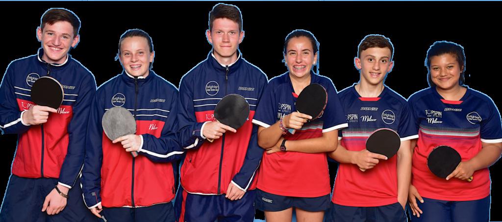BACA College + Brighton Table Tennis Club