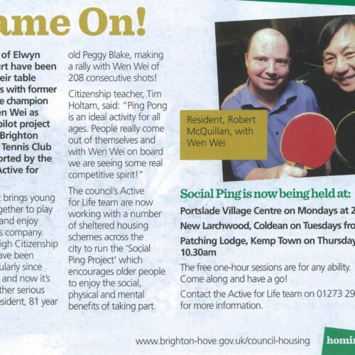 Homing In Magazine 2012