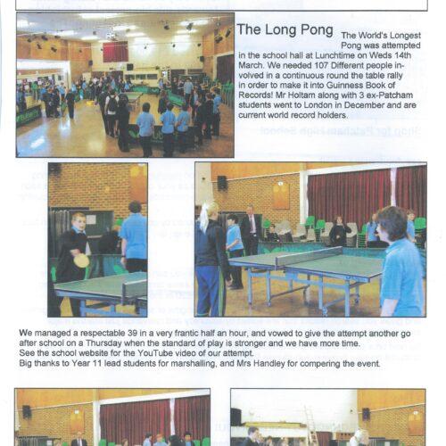 Patcham Post 2011 Patcham High School Magazine